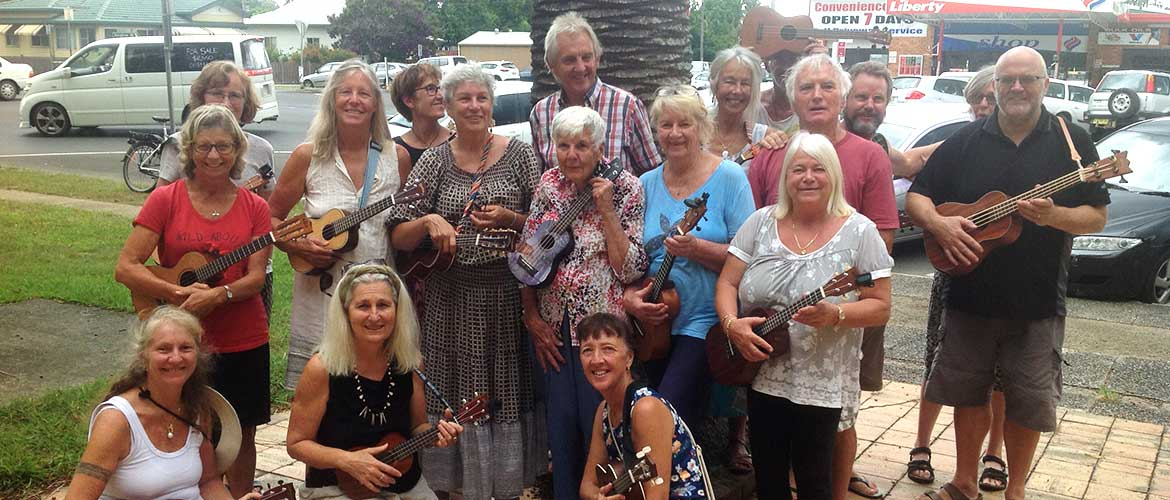 Mullumbimby District Neighbourhood Centre fun activities Ukulele Lessons