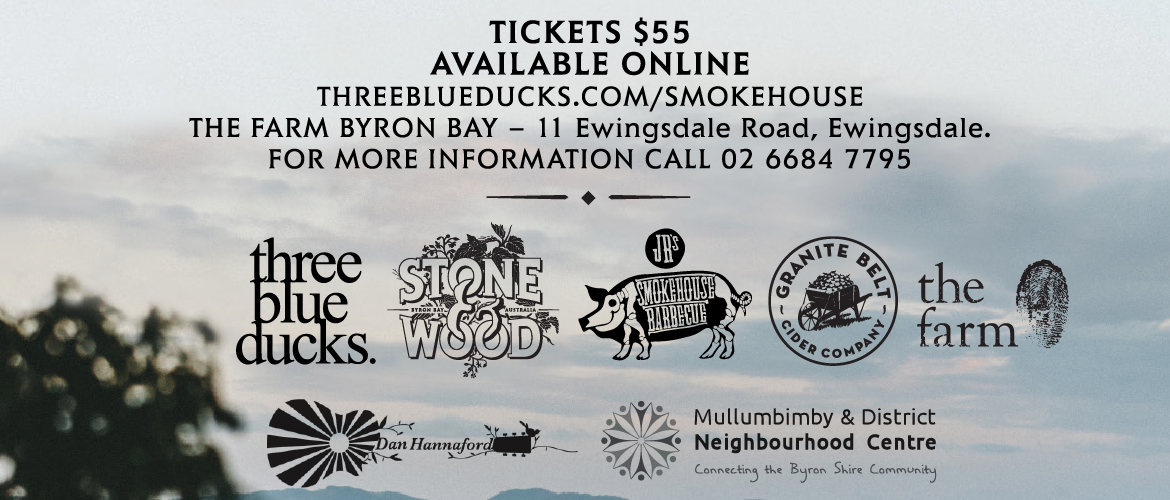 The Farm Smokehouse Charity Dinner Mullumbimby District Neighbourhood Centre
