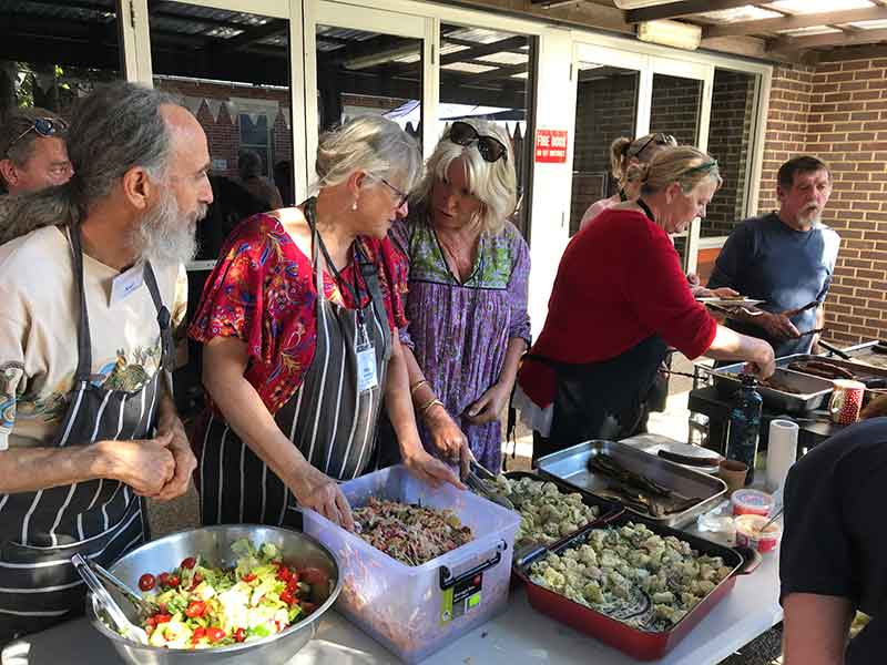MDNC Inaugural Open Day Mullumbimby 2019 Delicious Food